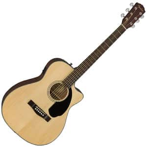 fender cc-60sce is electro-acoustic guitar suitable for beginners and players on a tight budget